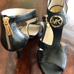 Michael Kors Black Leather Pumps - Never Worn